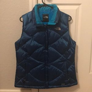 The North Face Women's 550 goose down puffer Vest